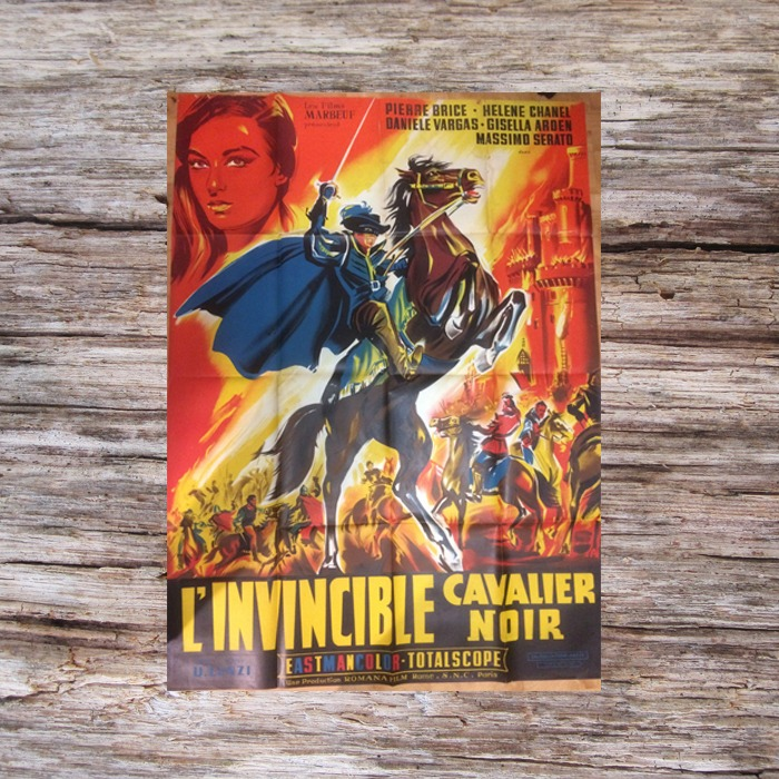 l'invinsible cavalier noir