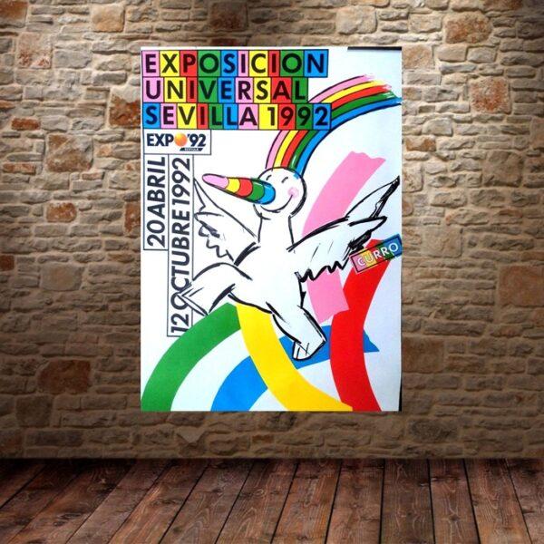 EXPOSICION UNIVERSAL SEVILLA 1992 de LAURENT ANTOINE Le MOG