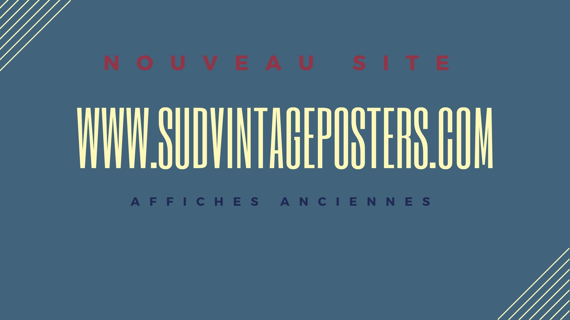 sud vintage posters